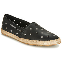 Sko Herre Espadriller John Galliano 6706 Sort