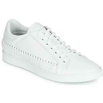 Sko Herre Lave sneakers John Galliano 6712 Hvid
