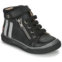Sko Dreng Høje sneakers GBB OMAHO Sort