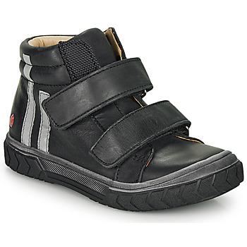 Sko Dreng Høje sneakers GBB OZONE Sort
