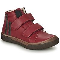 Sko Dreng Høje sneakers GBB OZONE Rød