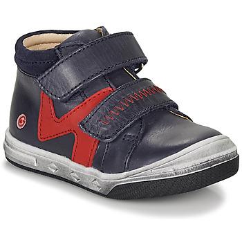 Sko Dreng Høje sneakers GBB OGROU Blå / Rød