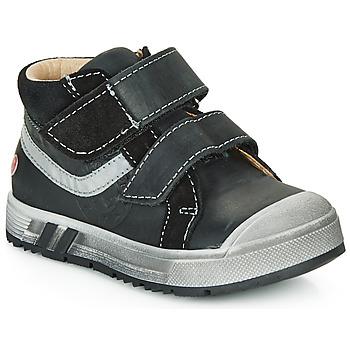 Sko Dreng Høje sneakers GBB OMALLO Sort