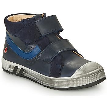 Sko Dreng Høje sneakers GBB OMALLO Blå