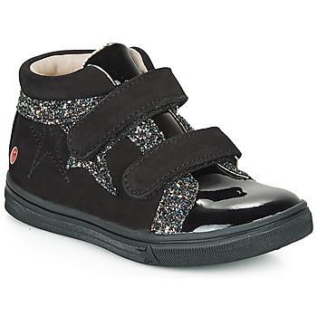 Sko Pige Høje sneakers GBB OHANE Sort