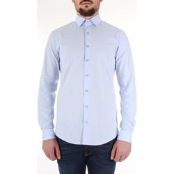textil Herre Skjorter m. lange ærmer Calvin Klein Jeans K10K103170 Celeste