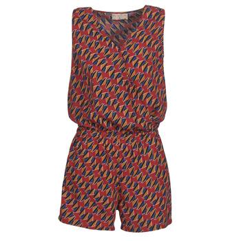 textil Dame Buksedragter / Overalls Moony Mood KETTELLE Rød / Flerfarvet