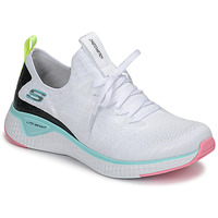 Sko Dame Fitness / Trainer Skechers FLEX APPEAL 3.0 Hvid / Pink / Blå
