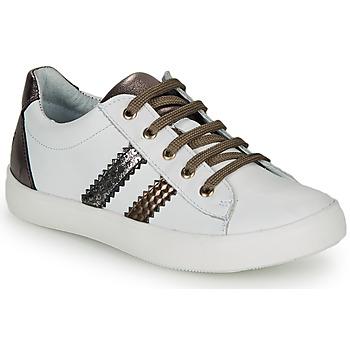 Sko Pige Lave sneakers GBB MAPLUE Hvid