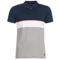 textil Herre Polo-t-shirts m. korte ærmer Casual Attitude KOULAZ Marineblå / Grå / Hvid