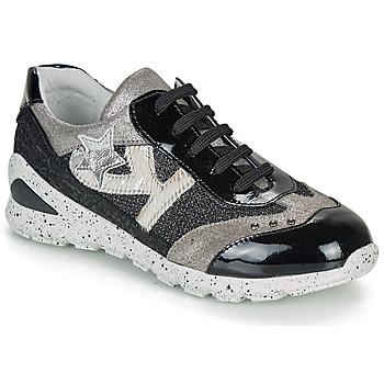 Sko Pige Lave sneakers Ikks FIONA Sort / Sølv