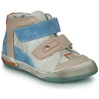 Sko Dreng Høje sneakers GBB PATRICK Grå / Blå