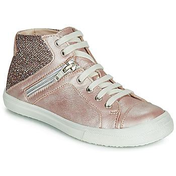 Sko Pige Høje sneakers Achile KAMI Pink