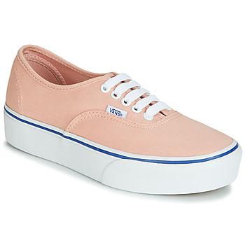 Sko Dame Lave sneakers Vans AUTHENTIC PLATFORM 2.0 Pink