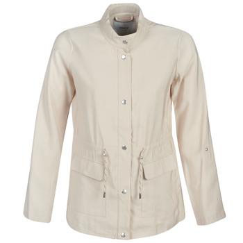 textil Dame Parkaer Only ONLDANIELLE Beige