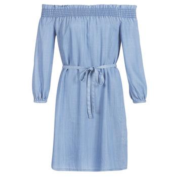 textil Dame Korte kjoler Only ONLSAMANTHA Blå / Lys