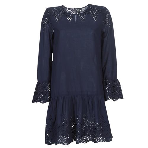 textil Dame Korte kjoler Only ONLALBERTHE Marineblå
