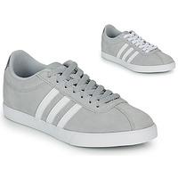 Sko Dame Lave sneakers adidas Originals COURTSET GRIS Grå