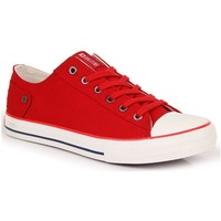 Sko Dame Lave sneakers Big Star INT1092B Hvid,Rød