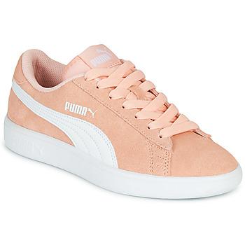 Sko Pige Lave sneakers Puma SMASH V2JR PEAC Koral