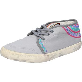 Sko Dame Lave sneakers Date AP518 Grå