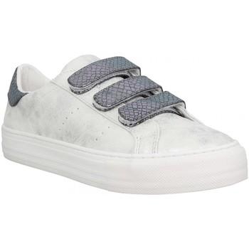 Sko Dame Lave sneakers No Name 117766 Sølv