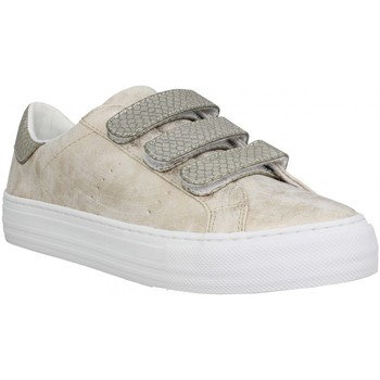 Sko Dame Lave sneakers No Name 117774 Guld