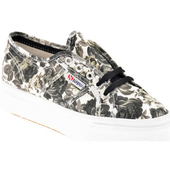 Sko Dame Lave sneakers Superga  Sort