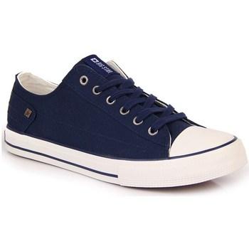 Sko Dame Lave sneakers Big Star INT1092C Hvid,Flåde