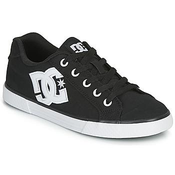 Sko Dame Skatesko DC Shoes CHELSEA TX Sort / Hvid