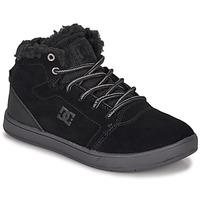 Sko Børn Høje sneakers DC Shoes CRISIS HIGH WNT Sort