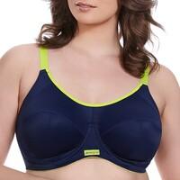 Undertøj Dame Sports-BH'er / toppe Elomi EL8041 NAY Blå