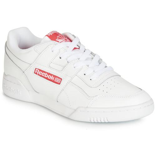 Sko Lave sneakers Reebok Classic WORKOUT PLUS MU Hvid / Rød