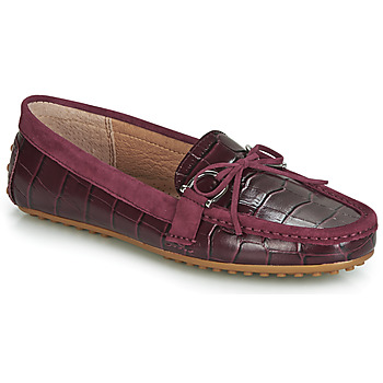 Sko Dame Mokkasiner Lauren Ralph Lauren BRILEY Bordeaux