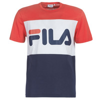 textil Herre T-shirts m. korte ærmer Fila DAY TEE Marineblå / Rød / Hvid