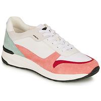 Sko Dame Lave sneakers Geox AIRELL Hvid