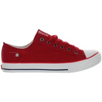 Sko Dame Lave sneakers Big Star DD274339 Rød