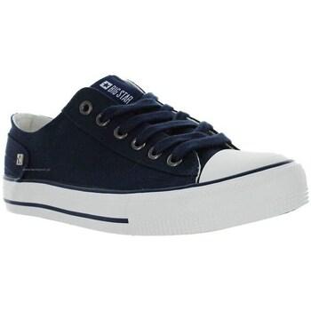 Sko Dame Lave sneakers Big Star DD274335 Flåde