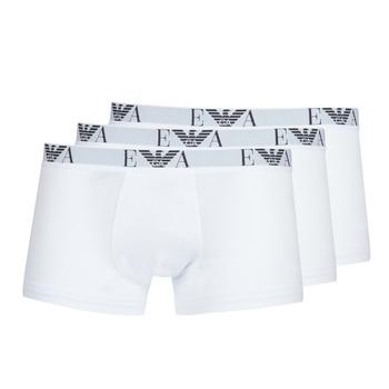 textil Herre Boxer Emporio Armani CC715-111357-16512 Hvid