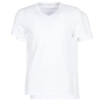 textil Herre T-shirts m. korte ærmer Emporio Armani CC722-111648-04710 Hvid
