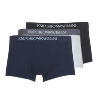 Undertøj Herre Trunks Emporio Armani CC722-111610-94235 Marineblå / Grå / Sort