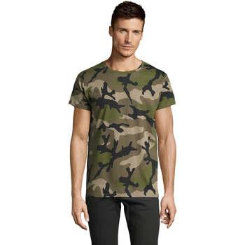 T-shirts m. korte ærmer Sols  CAMOUFLAGE DESIGN MEN