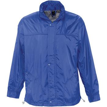 textil Vindjakker Sols MISTRAL HIDRO SWEATER Azul