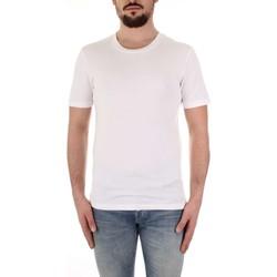 textil Herre T-shirts m. korte ærmer Selected 16057141 Bianco