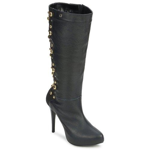 Sko Dame Chikke støvler Carmen Steffens 9112399001 Sort