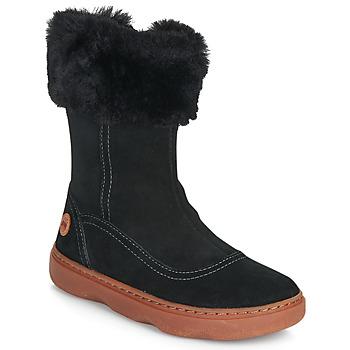 Sko Pige Chikke støvler Camper KIDDO Sort