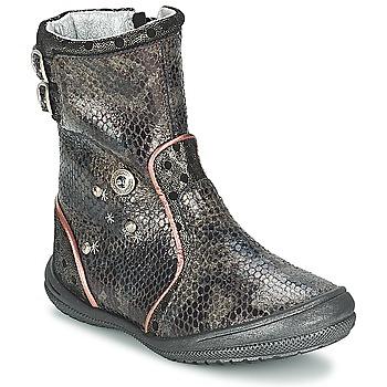 Sko Pige Chikke støvler Catimini CLABAUD Bronze / Sort