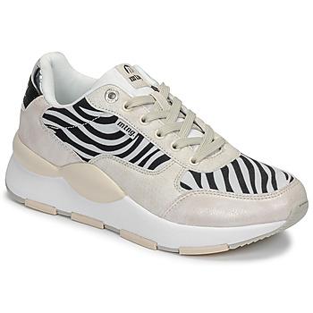Sko Dame Lave sneakers MTNG 69867-C47433 Sort / Hvid