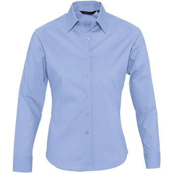 textil Dame Skjorter / Skjortebluser Sols EDEN ELEGANCE Azul