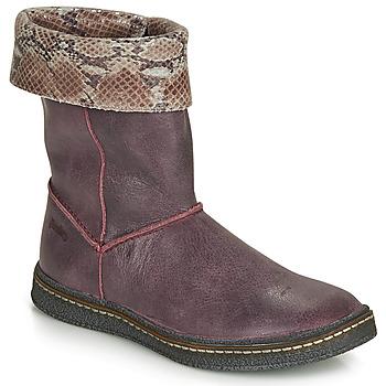 Sko Pige Chikke støvler Ramdam CRACOVIE Bordeaux